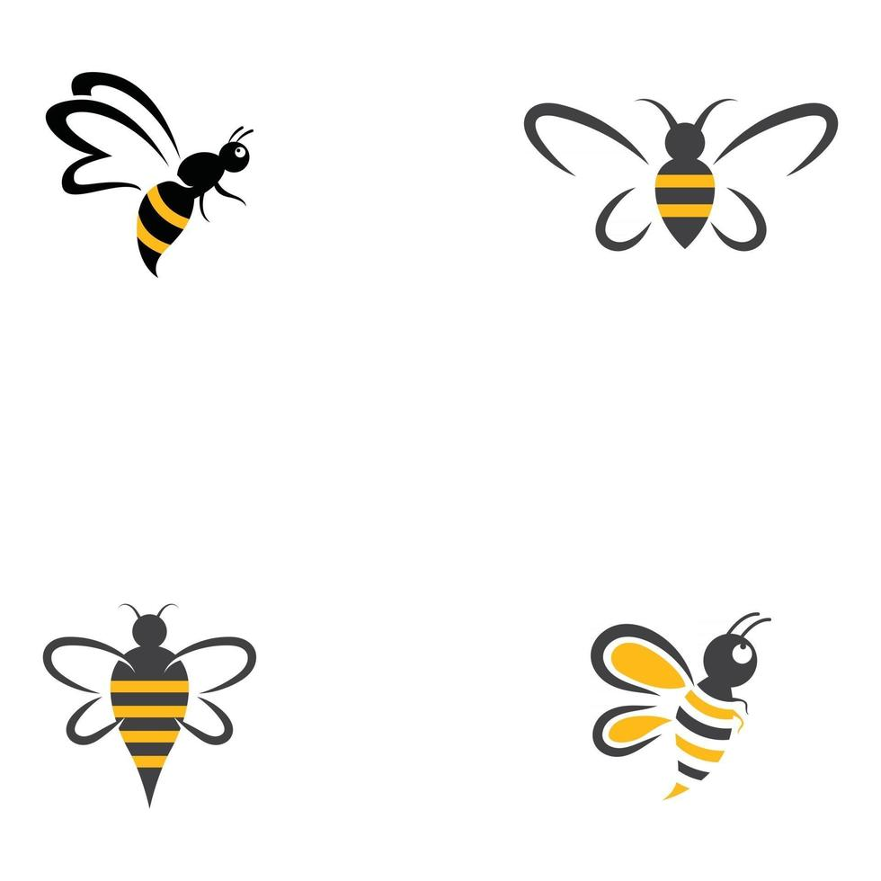 Suggest the templates you need to the bee team. Bee Logo Template Vector Icon Illustration Design 2959632 Vector Art At Vecteezy