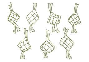 Ketupat Free Vector Art 5162 Free Downloads