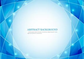 Glowing Polygon Background vector