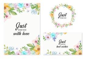 Invitation Card Design Free Vector Art