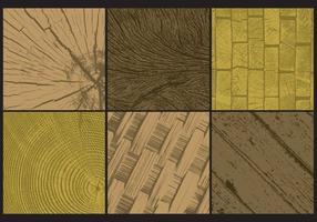 Grunge Wood Textures vector