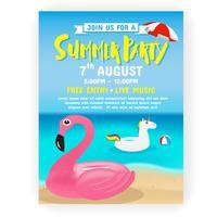 https www vecteezy com vector art 216545 summer party invitation flyer background template design