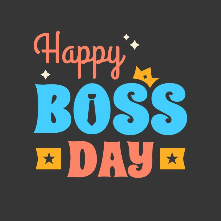 Happy Boss Day Poster - Download Free Vectors, Clipart Graphics & Vector Art