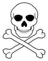 Skull And Crossbones Free Vector Art 2 826 Free Downloads