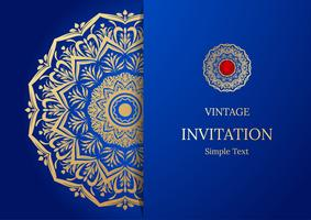 https www vecteezy com vector art 509285 elegant save the date card design vintage floral invitation card template luxury swirl mandala greeting gold and blue card
