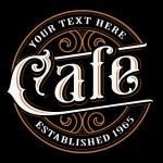Diseno De Letras Vintage Cafe Descargar Vectores Gratis Illustrator Graficos Plantillas Diseno