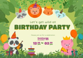 https www vecteezy com vector art 545587 cute animal birthday invitation vector character