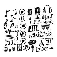 Hand Drawn Music Notes Free Vector Art 74 Free Downloads