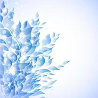 Blue Floral Background Free Vector Art 2 538 Free Downloads