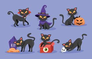 Cat black and white cat clipart black and white danaami2 top. Black Cat Halloween Vector Art Icons And Graphics For Free Download