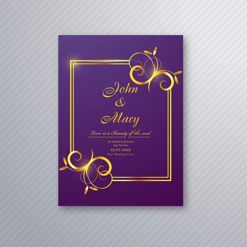 https fr vecteezy com art vectoriel 249626 modele de carte d invitation de mariage avec motif floral decoratif