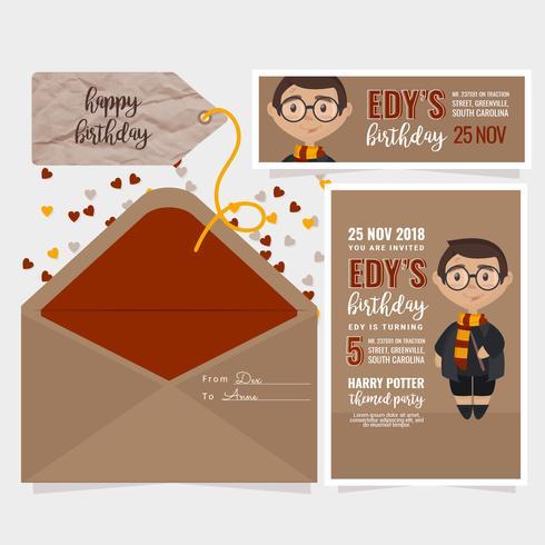 https fr vecteezy com art vectoriel 256609 invitation d anniversaire enfants vector