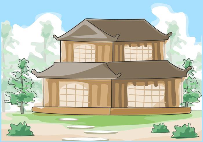 https fr vecteezy com art vectoriel 259784 vecteur aquarelle exterieure maison japonaise traditionnelle