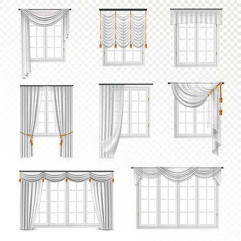 https fr vecteezy com art vectoriel 470423 ensemble de fenetres rideau realiste