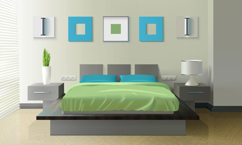 https fr vecteezy com art vectoriel 471967 design realiste de chambre a coucher moderne