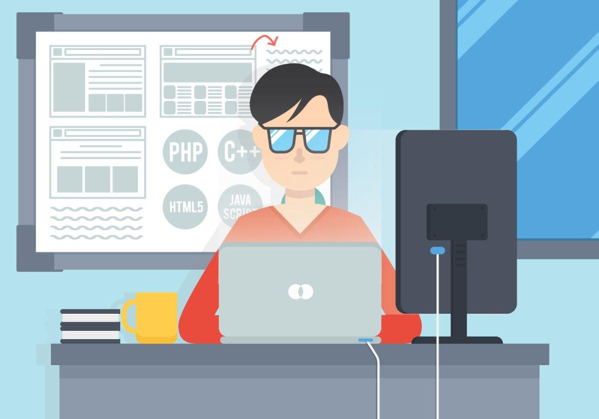 Vecteur d'ingénieurs logiciels - Telecharger Vectoriel Gratuit, Clipart Graphique, Vecteur Dessins et Pictogramme Gratuit