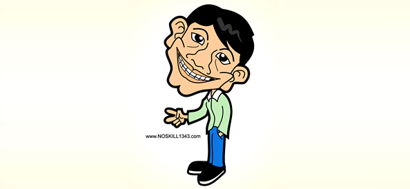 Vector Cartoon Caricature