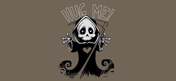 Cute Death Mascot – Grim Reaper