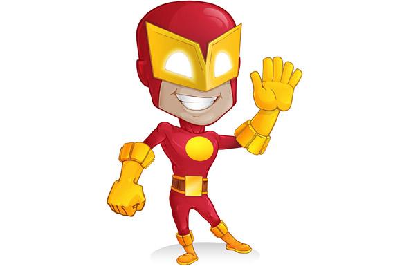 Superhero Vector Character Preview Big