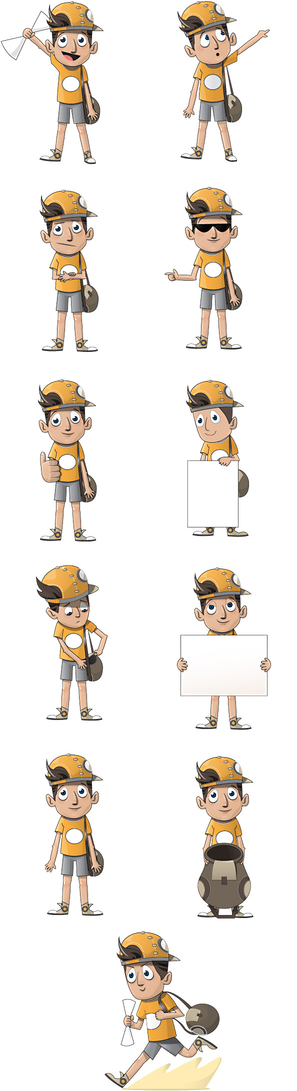 Boy Vector Character Preview Big