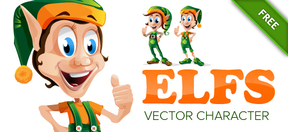Elf Vector Character Set