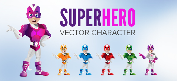 Male Superhero Character