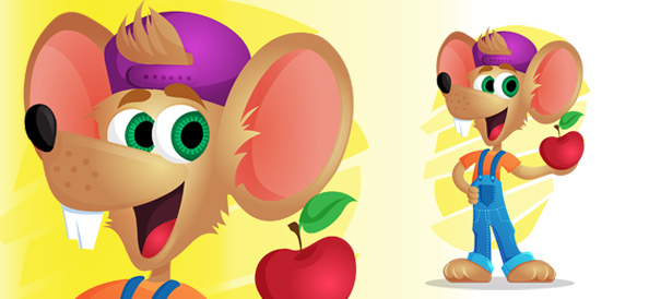 Mouse Vector Character