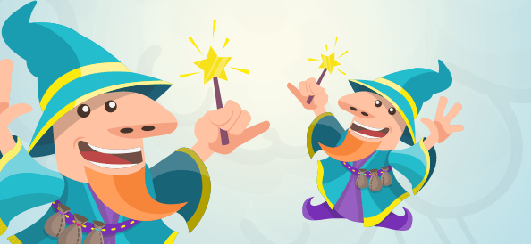 Wizard With a Magic Wand