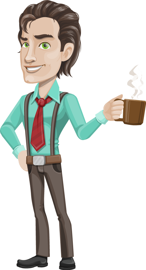 Successful Businessman Vector Character - Vector Characters