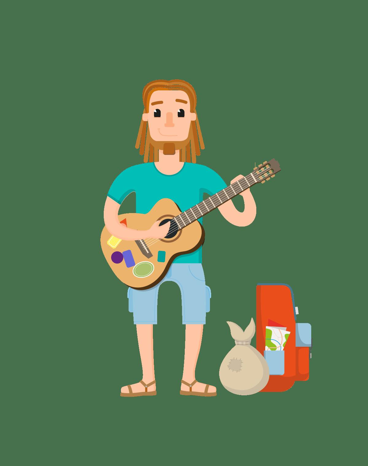 Job Male Character Vector Set - Vector Characters
