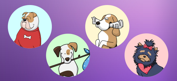 Dog Avatars Pack
