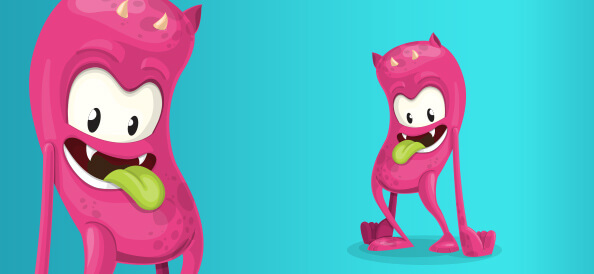 Free Cute Monster Character