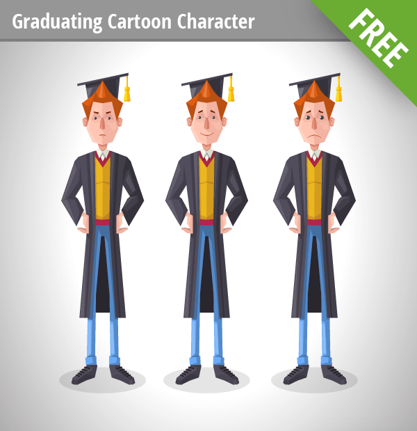 Graduating Vector Character free