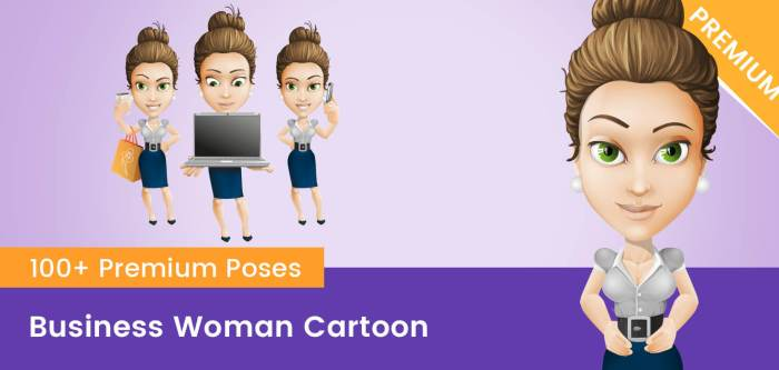 Business Woman Cartoon Images