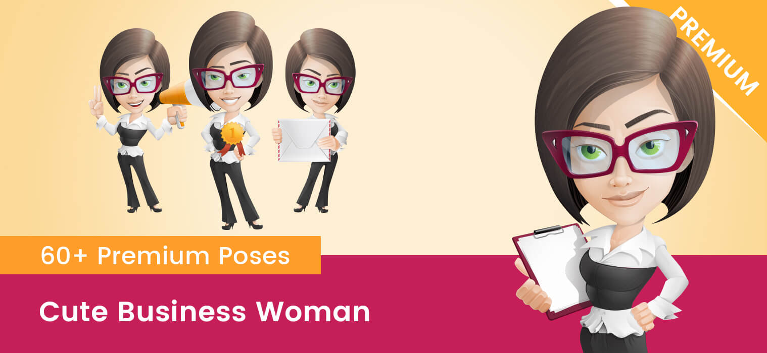 Business Woman Cartoon Pictures