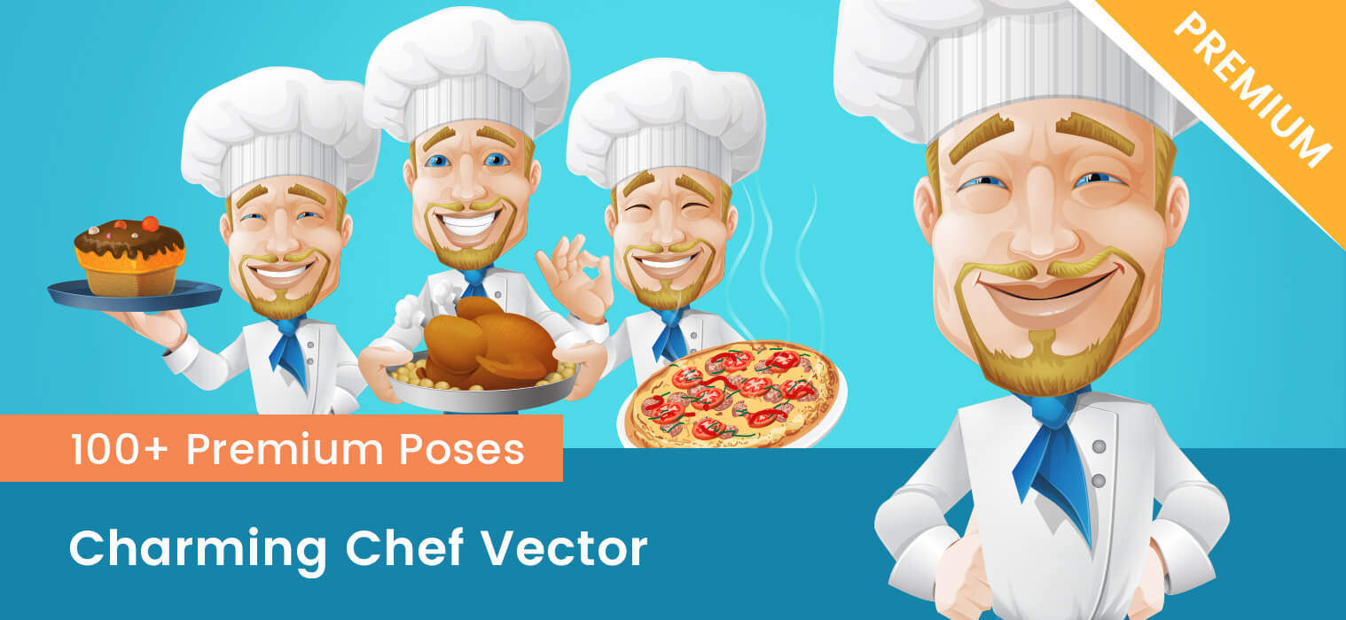Charming Chef Vector