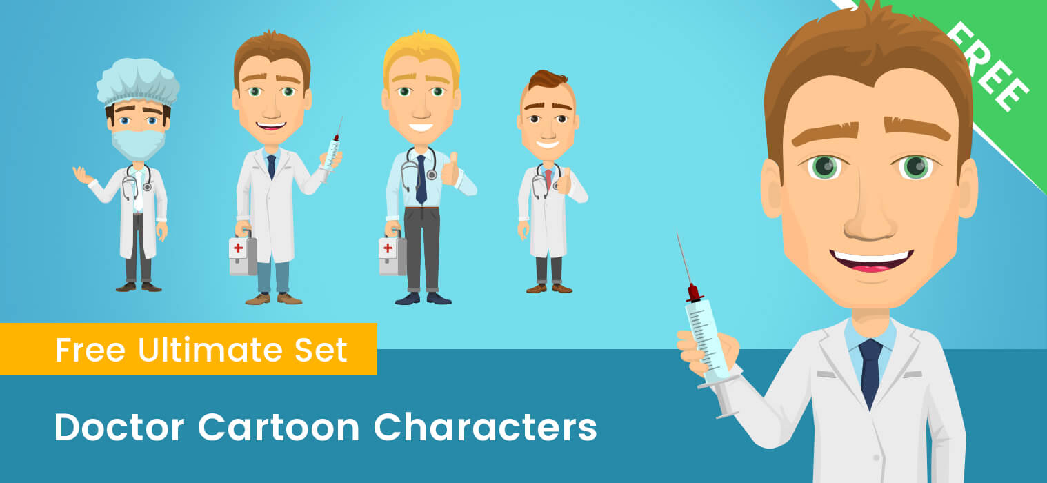 Doctor Cartoon Characters