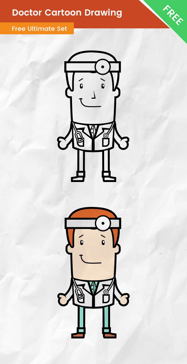 Doctor Cartoon Drawing