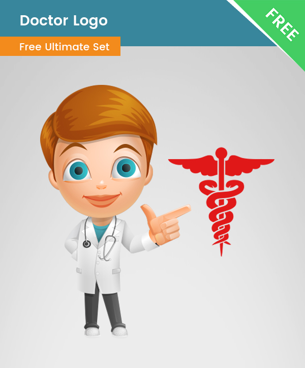 Doctor PNG Logo, medicine logo, health, medic