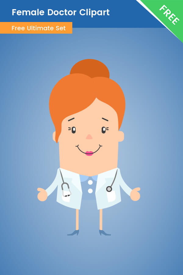 Female Doctor Clipart PNG