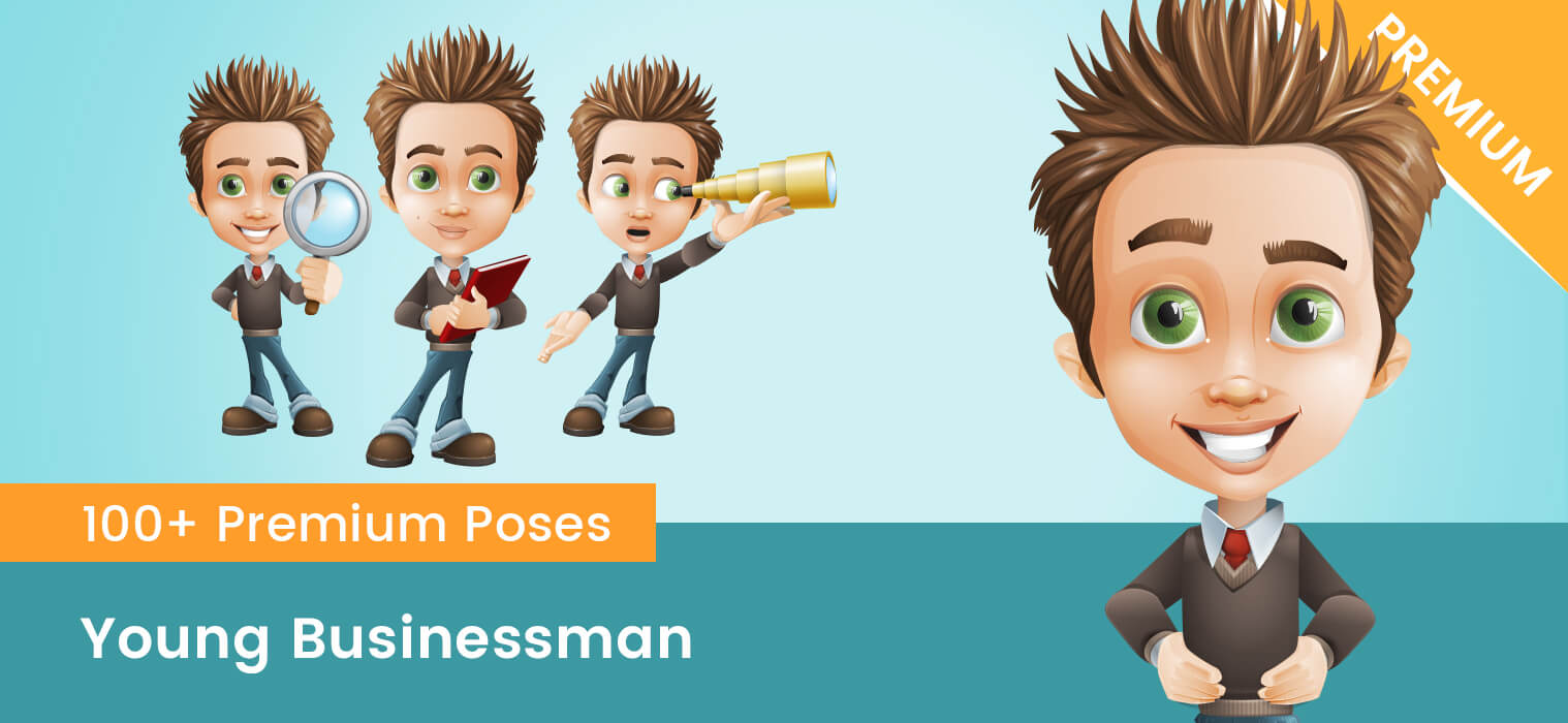 Young Businessman Cartoon