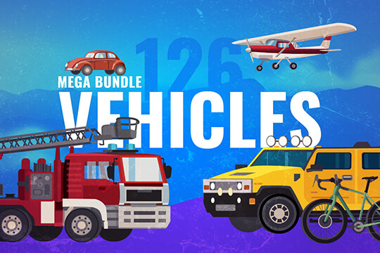 vector vehicle graphics