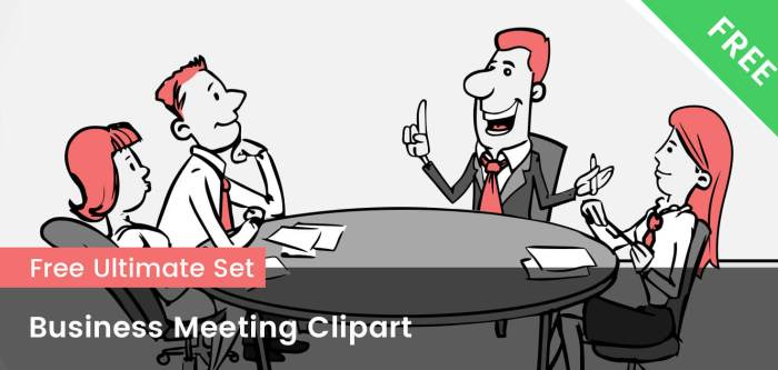 Business Meeting Clipart