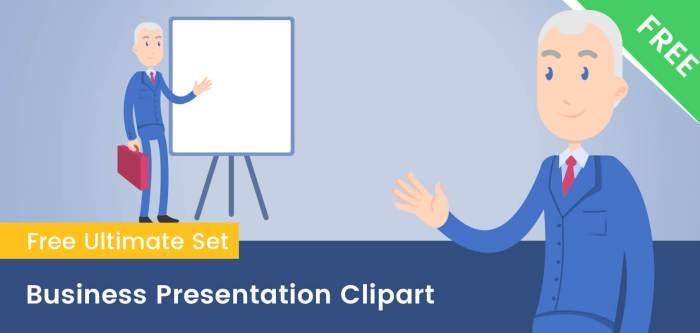 Business Presentation Clipart