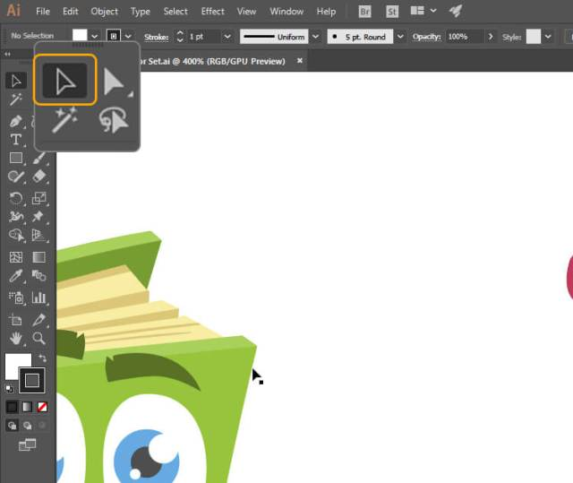 How to Change Color of Vector Image for Beginners - step 3