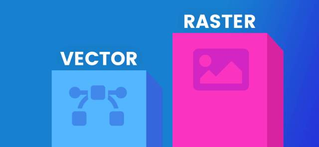 Vector vs Raster: Everything about Raster Files | VectorCharacters Blog