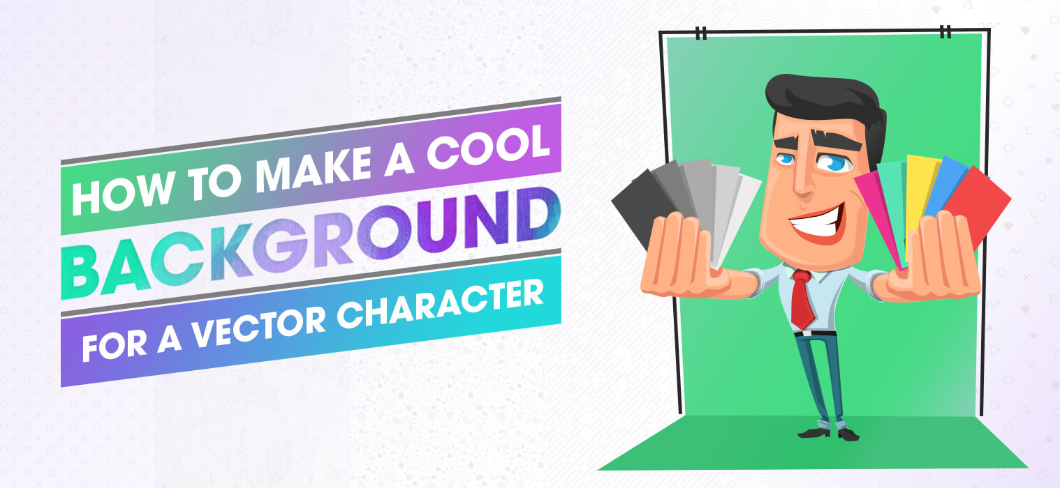 How to Make a Cool Background for a Vector Character