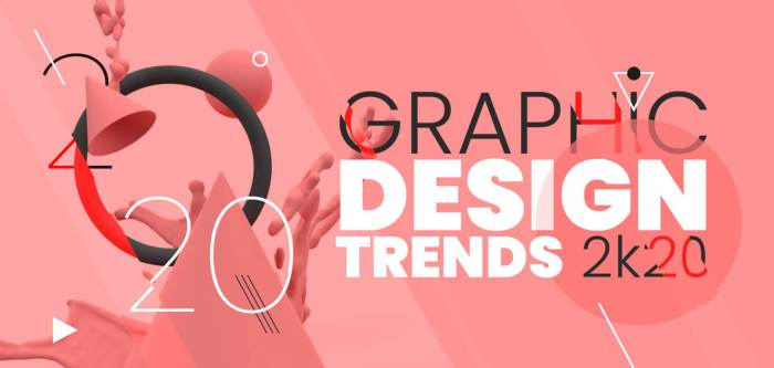 The Most Popular Graphic Design Trends for 2020