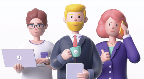 Really Good Character Design - 3D Business People