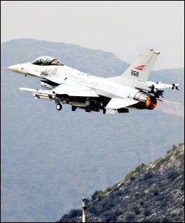 When Norway began bombing missions in Libya